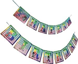 Trolls Happy Birthday Banner for Kids Birthday Party Decoration Supplies