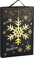 SIX Damenschmuck Adventskalender: 24 Überraschungen in Form schöner Schmuckstücke wie Ohrringe, Ketten und Armbänder