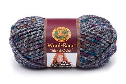 Amazon Lion Brand Yarn 640 527 Wool Ease Thick Quick Yarn 80