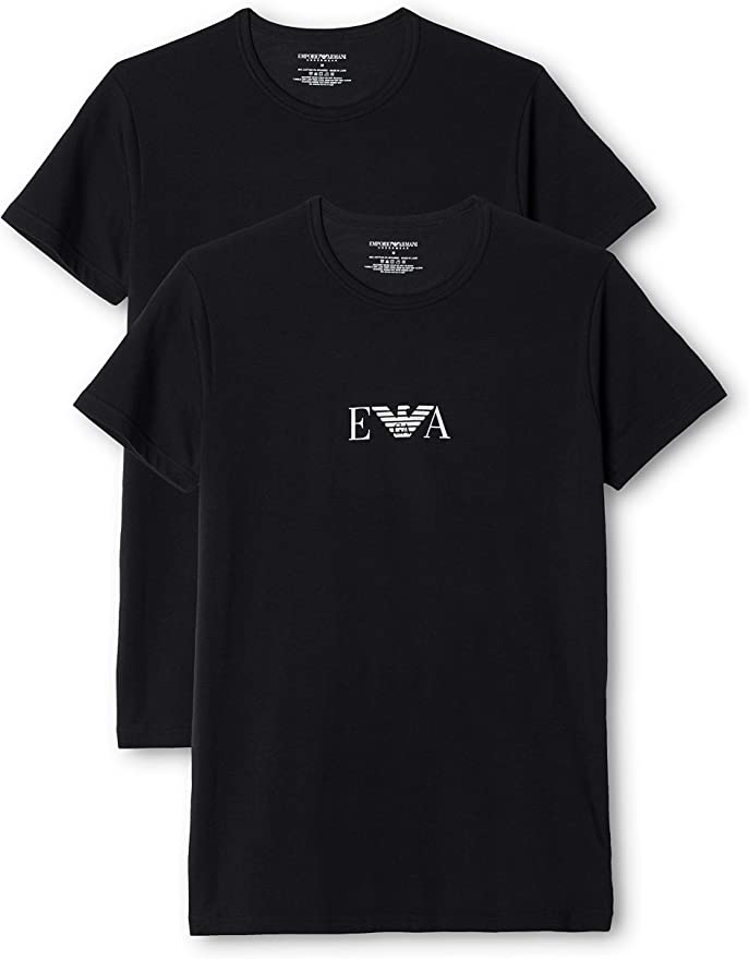 TALLA M. Emporio Armani Men'S Knit Brief B, Camiseta Para Hombre