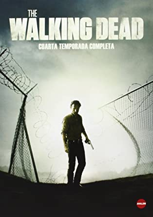 The Walking Dead Staffel 4 DVD Import Englisch Tonspur Sprache Kein ...