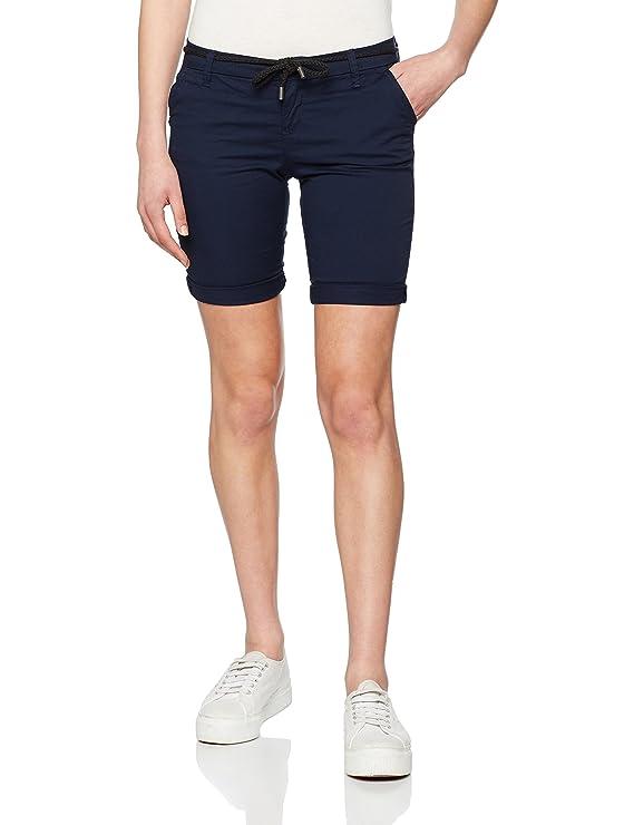 Only Nos Onlparis L Long Chi Belt Shorts Pnt Noos, Pantalones Cortos para Mujer, Marrón (Desert Taupe), 42