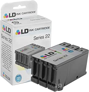 LD Compatible Ink Cartridge Replacement for Dell T096N Series 22 High Yield (Color)