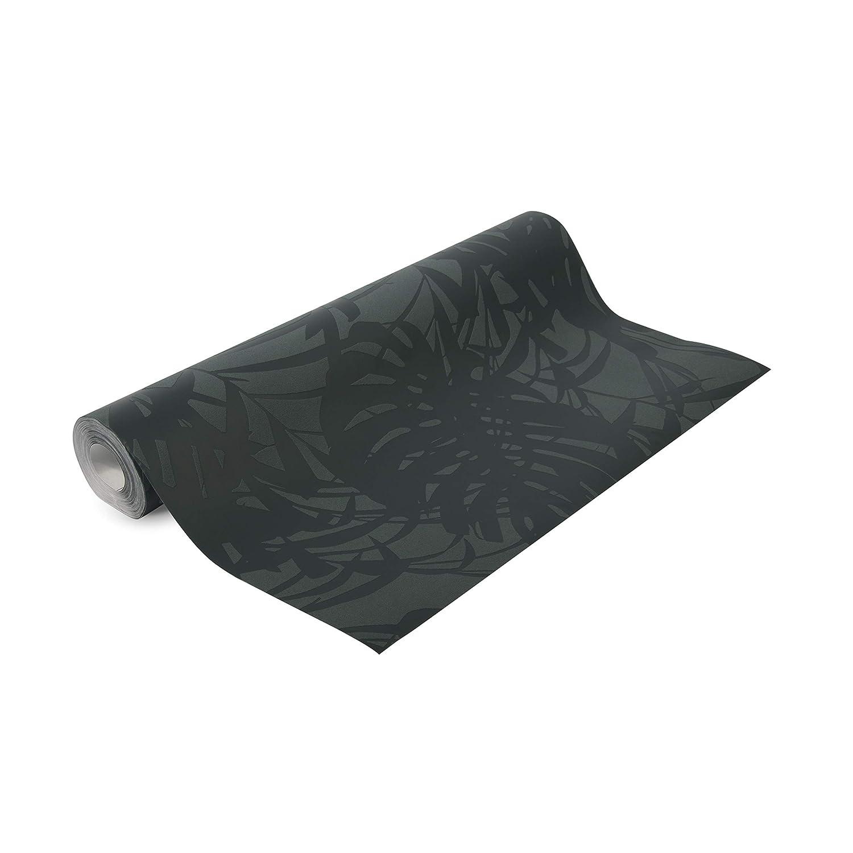 Superfresco Easy Papier Peint intiss/é Palme Feuilles Vert fonc/é 10m x 52cm
