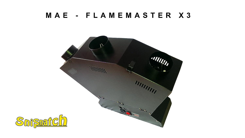 Mae - Flame Master X3/3 Llamas Fuego proyector/Fuego y efecto ...