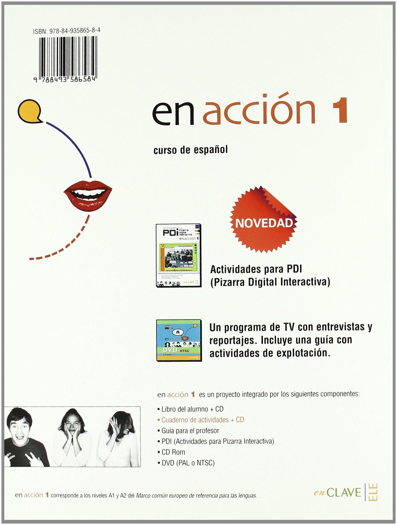 En Accion: Cuaderno De Actividades + CD Audio 1 (Spanish ...