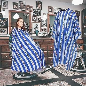 GAOYI Traje de peluquería profesional a prueba de agua, material liviano ripstop y protección de larga duración, adecuado para barberías y salones de ...
