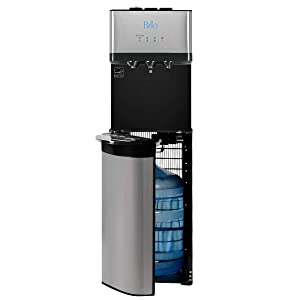 Brio Bottom Load Self Cleaning Hot, Cold & Room Water Cooler Dispenser - 3 Temperature Modes for Home or Office - UL/Energy Star Approved