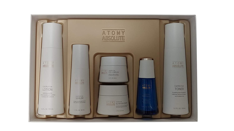Atomy(アトミ) エイソルー Absolute CellActive Skincare 6種 Set [並行輸入品] B07Q8636BP