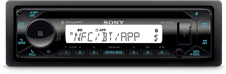 Sony MEX-M72BT Marine CD Receiver with Bluetooth and SiriusXM Ready