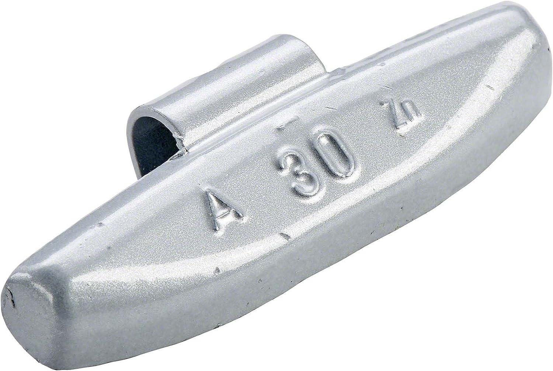 Schlaggewichte Alu Auswuchtgewichte Alufelgen PERFECT EQUIPMENT 100x Schlaggewichte Alufelgen Typ63 30g Silber Wuchtgewichte Alufelgen