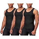 DEVOPS 2~3 Pack Men's Muscle Dri Fit Compression Tank Top