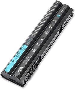 T54FJ E6420 57WH Laptop Battery for Dell Latitude E5420 E5520 E5420 E5430 E5520 E5530 E6520 E6530 E6420 E6430 E6530 Inspiron 4420 Series 14R 5420 15R 5520 7520 17R 5720 7720 M421R M521R N4420 N4720