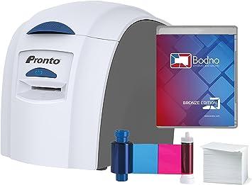 Amazon.com: Impresora de tarjetas de identificación Magicard ...