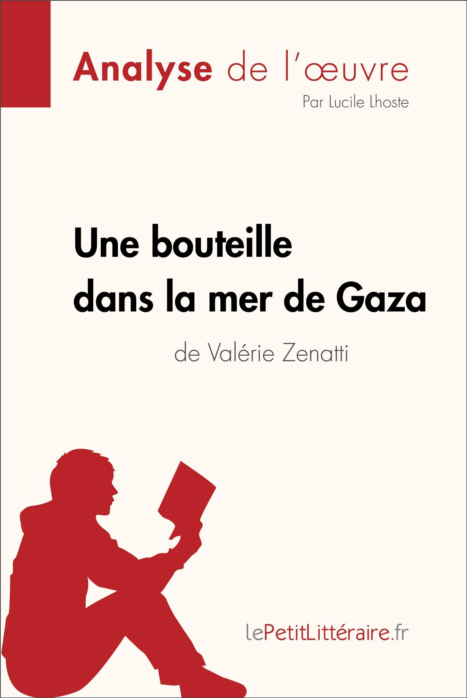 Une Bouteille Dans La Mer De Gaza De Valérie Zenatti  Fiche De Lecture   Résumé Complet Et Analyse Détaillée De L'oeuvre  French Edition