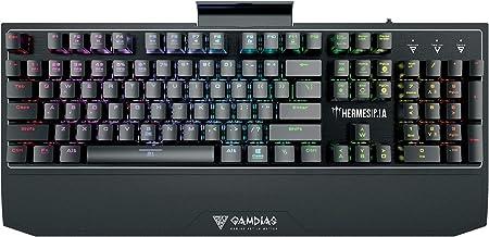 GAMDIAS Hermes P1A RGB Teclado mecánico para juegos con ...