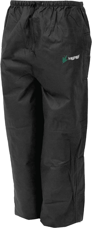 FROGG TOGGS Men's Signature Bull Frogg Waterproof Breathable Rain Pant: Clothing