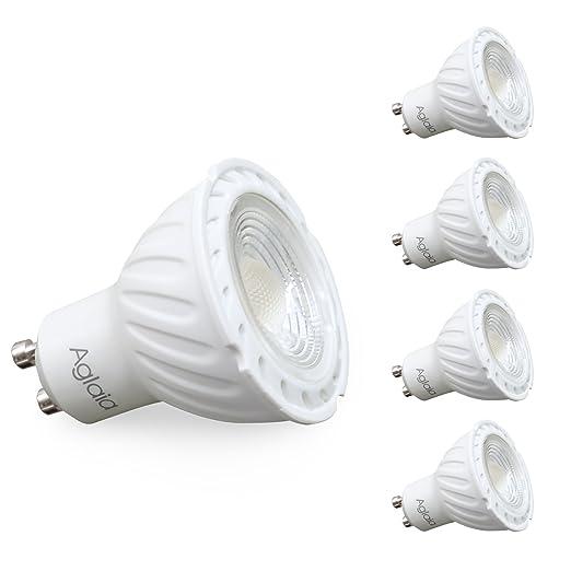 4 opinioni per Aglaia Lampadine GU10 a LED, 6W Equivalente a 42W, 470 Lumen 3000K Bianco Caldo,