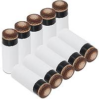 A Un Taco Consejos Billar Screw-on de Repuesto Consejos con Piscina Tacos de Billar virolas 10 Unidades, 12mm Brown