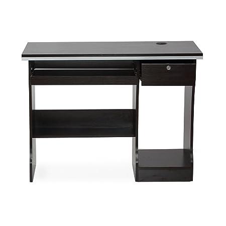 Nilkamal Austin Computer Table (Walnut Finish, Brown)
