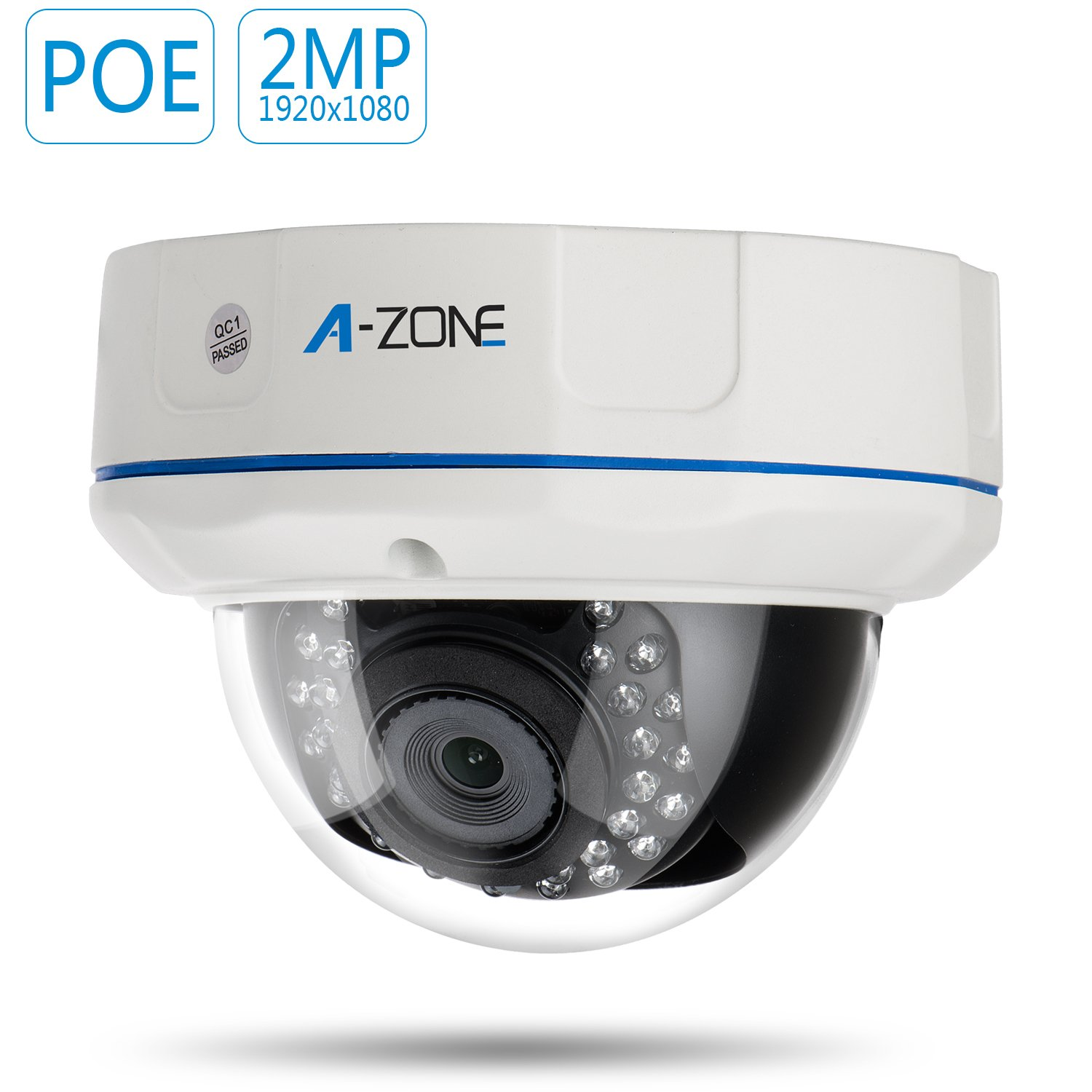 A-ZONE 2MP PoE dome camera Tollar 857804