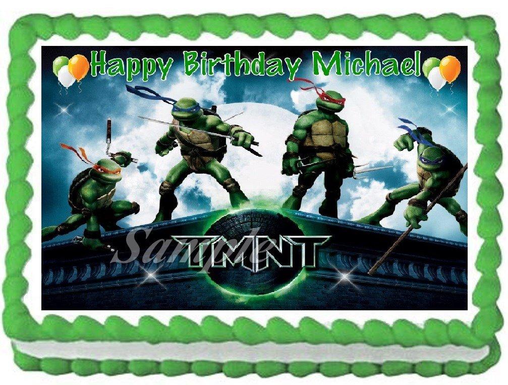 Amazoncom Teenage Mutant Ninja Turtles 1 Edible Frosting Sheet