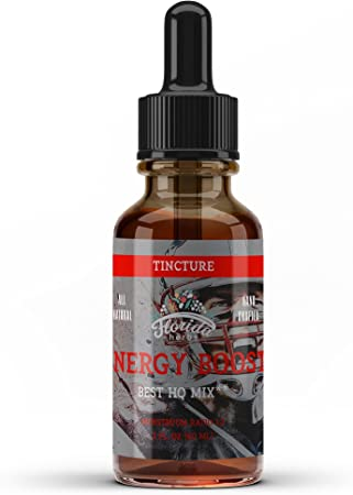 Energy Booster (Yohimbe, Licorice, Sarsaparilla, Saw Palmetto, Cayenne), Natural Energy Booster, Energy Booster Supplements for Men