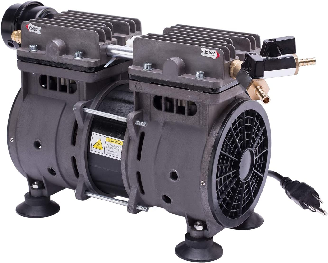 HQUA PAS20RPC,1/2 HP Pump Compressor for PAS20 Pond & Lake Aeration System
