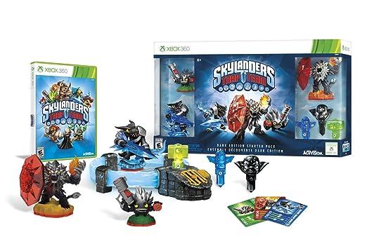 Amazon Com Skylanders Trap Team Dark Edition Starter Pack Xbox 360 Video Games