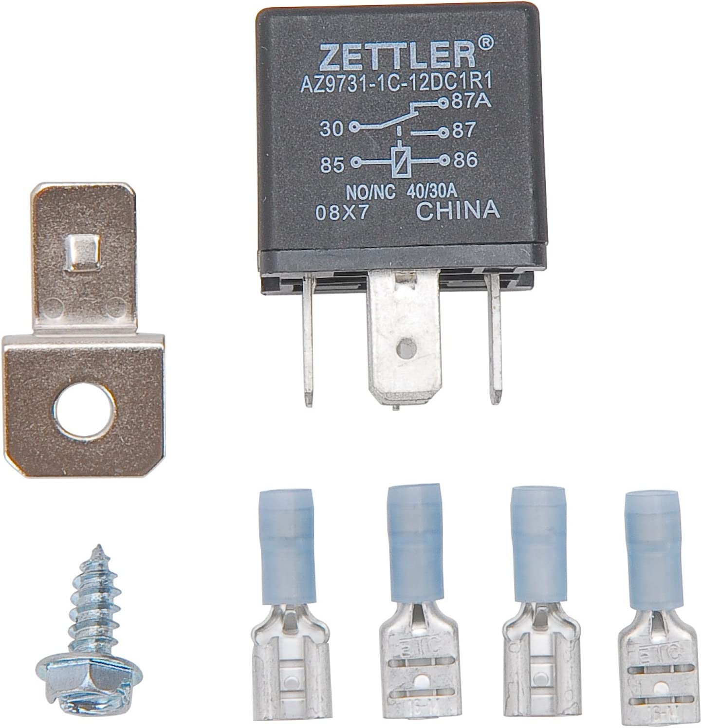 JEGS 10557 30 Amp Relay For Electric Fan or Fuel Pump