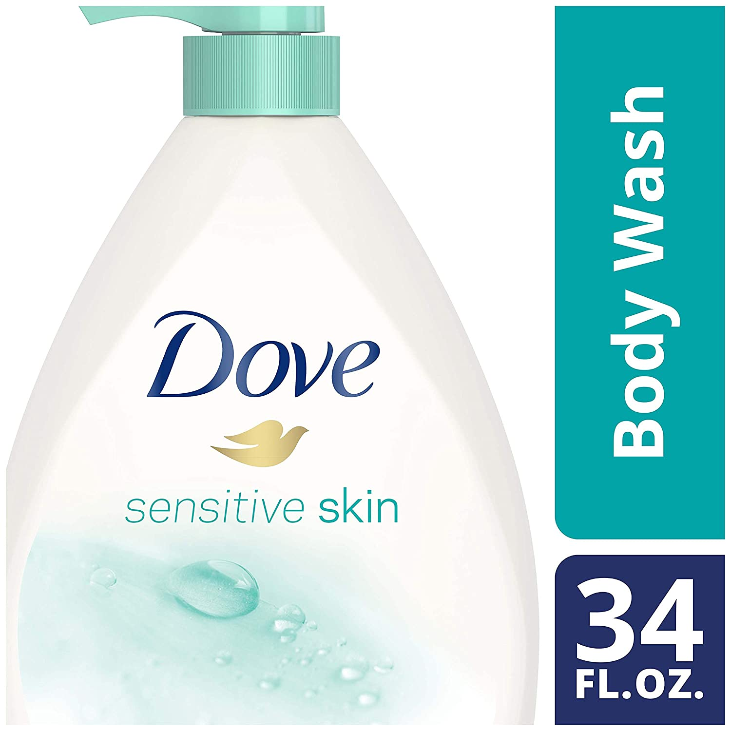 Dove go fresh Body Wash Cucumber and Green Tea 22 oz, Pack of 4 10011111229096