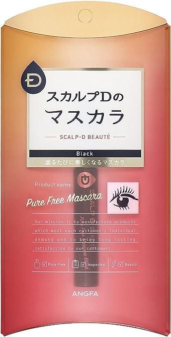 38a86131f50 Amazon.com: ANGFA Scalp-D Beaute PureFree Mascara Black 0.2 Ounce ...