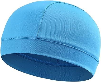 Moisture Wicking Cooling Skull Cap Helmet Liner Beanie Bald Caps Dome Cap