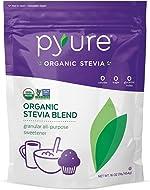 Pyure Organic Stevia Sweetener Blend, 2:1 Sugar Substitute, Granular All-Purpose, 1