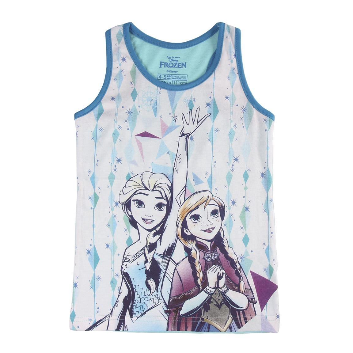 Maglia 7 anni Elsa Top Anna Frozen 2200002627 Canotta cotone