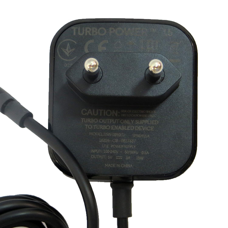 Humpie Dumpie Alimentación Cargador Original Motorola Turbo Power 15 W USB-C spn5915 a: Amazon.es: Electrónica