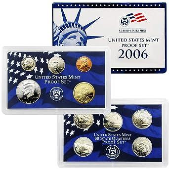 2006S US Mint Proof Set 10 Coin Set