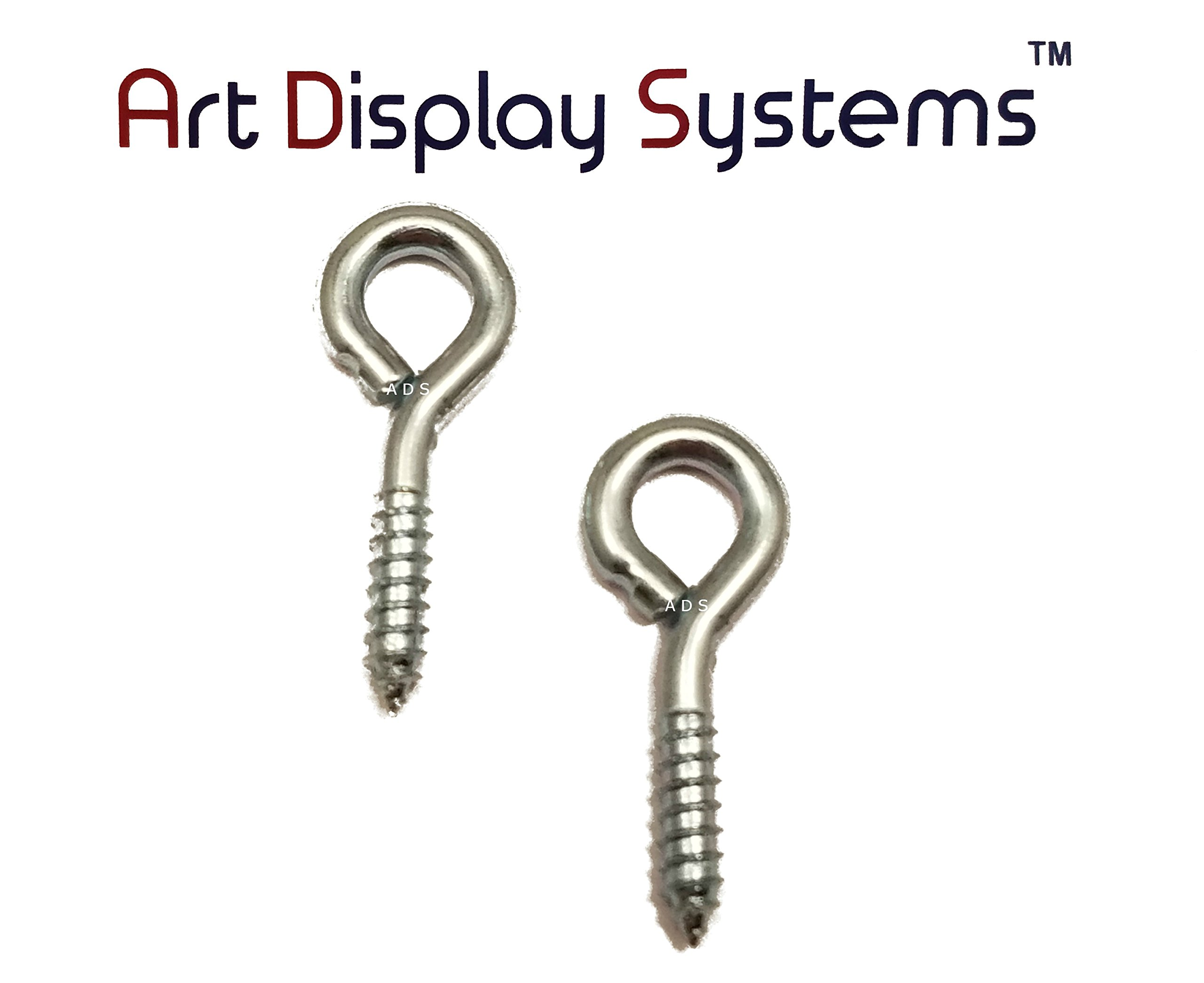 ADS 212 LS ZP Screw Eye - 200 Pack by ART DISPLAY SYSTEMS