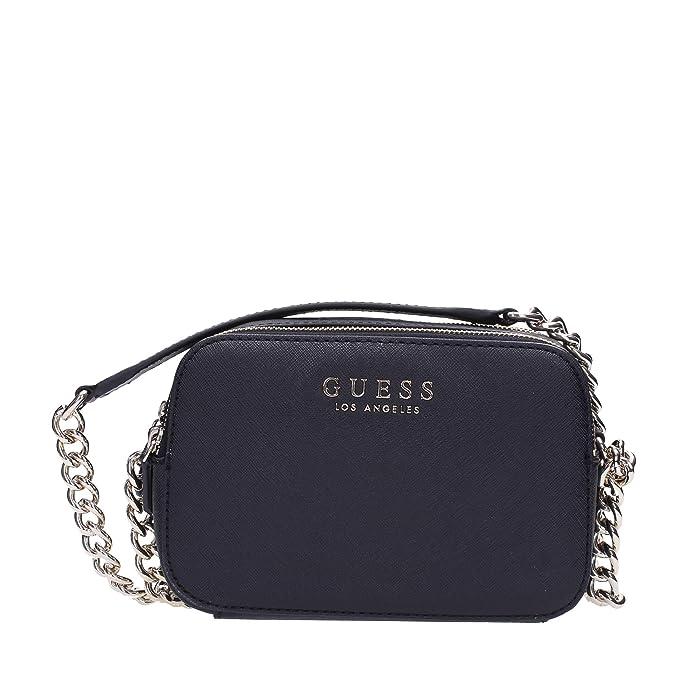 743b31c5333f GUESS Robyn Crossbody Camera Black: Amazon.co.uk: Shoes & Bags