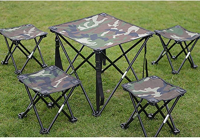 Zeroall Taburete Plegable Port/átil Silla Plegable al Aire Libre Aleaci/ón de Aluminio Sillas Plegables Camping para Pescar Excursionismo C/ámping Picnic Viajar