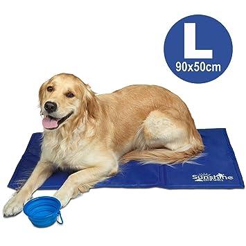 Felpudo Refrescante Grande Azul para Perros - 90 x 50 cm con ...