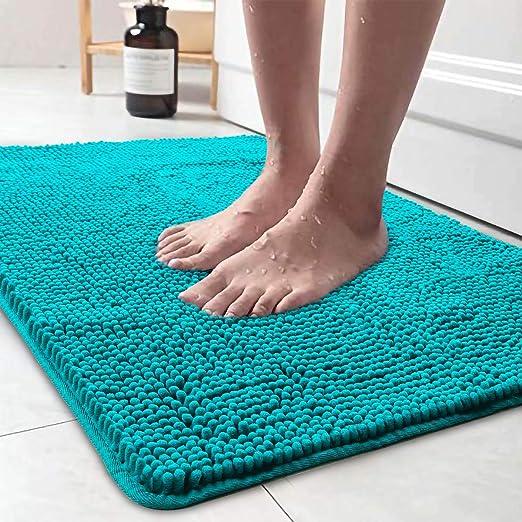 Portrait of two puppies Door Mat Bathroom Rug Bedroom Carpet Bath Mats Non-Slip