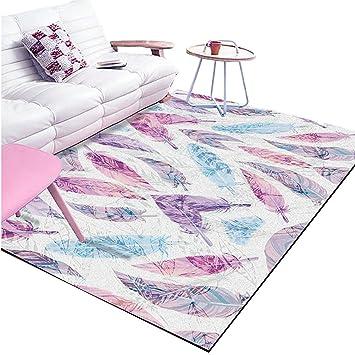 AYY Carpet CSQ Mädchen Zimmer Teppich, Helle Farbe Haushalt Dekoration Tee  Tisch Hängesessel Computer Schreibtisch