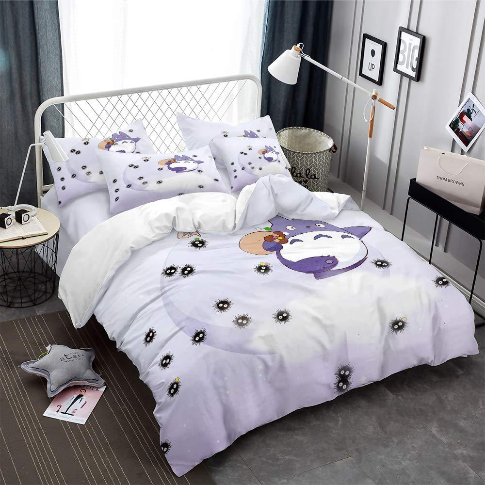 Copripiumino Totoro.Nylin Biancheria Letto Totoro Copripiumino Mio Vicino Totoro Set