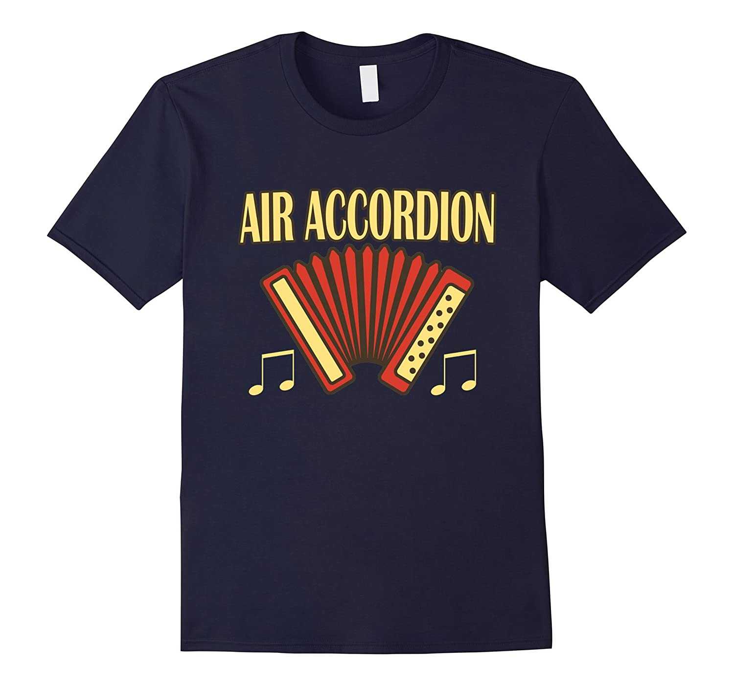 AIR Accordion Fun Musical Instrument Band T-Shirt-BN