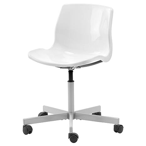 IKEA Snille - Silla giratoria blanca