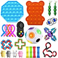 Muyunnet fidget toys Sensoriskt leksaksset, 23st dekompressionsleksaker för barn, stressavlastning för barn och vuxna…