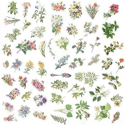 200+ Assorted Flower Foliage Scrapbooking Embellishments DIY CRAFTS CARDS