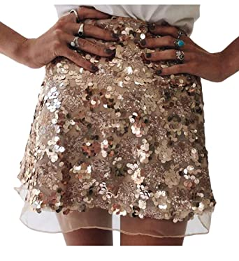 Women's Clothing Plus Size Sequin Skirt High Quality Materials Clothing, Shoes & Accessories