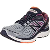b98d0afe0ce New Balance Women s 860v7 Wide Reflection with Poisonberry   Pigment Running  Shoe 5.5 Wide Women US